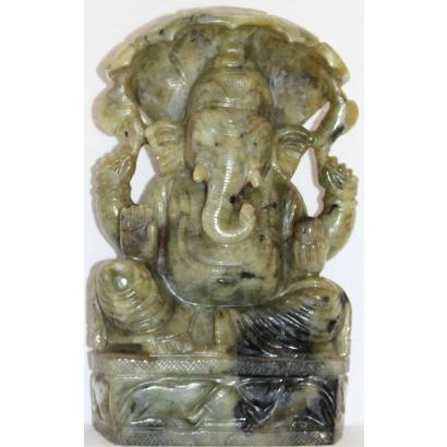 Gemstone God Ganesha Statue