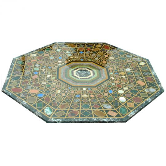 Pietra Dura Marble Stone Inlay Table top